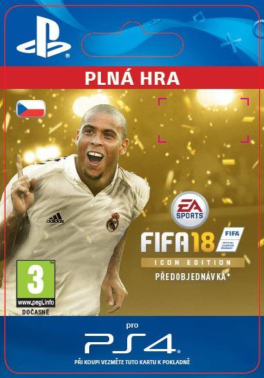 ESD SK PS4 - FIFA 18 ICON Edition