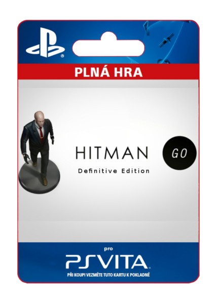 ESD SK PS Vita - Hitman GO: Definitive Edition
