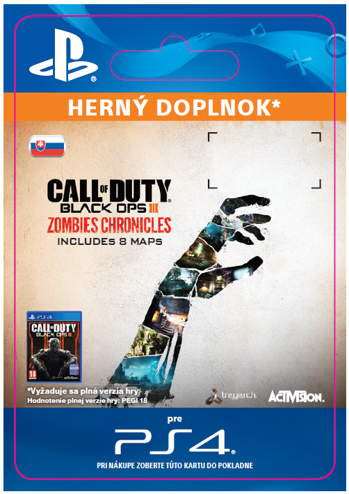 ESD SK PS4 - Call of Duty Black Ops III: Zombies Chronicles