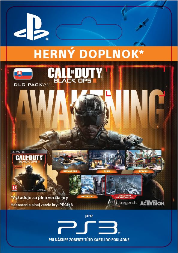ESD SK PS3 - Call of Duty®: Black Ops III - Awakening DLC