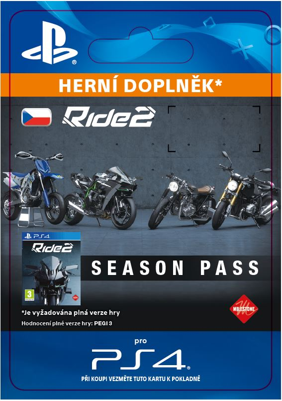 ESD CZ PS4 - Ride 2 Season Pass