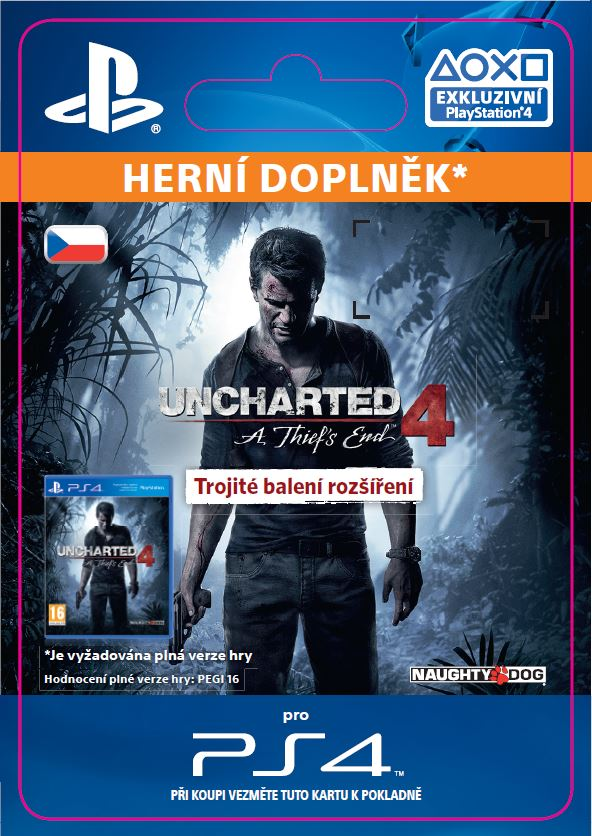 ESD SK PS4 - Uncharted 4: A Thief's End Triple Pack Expansion