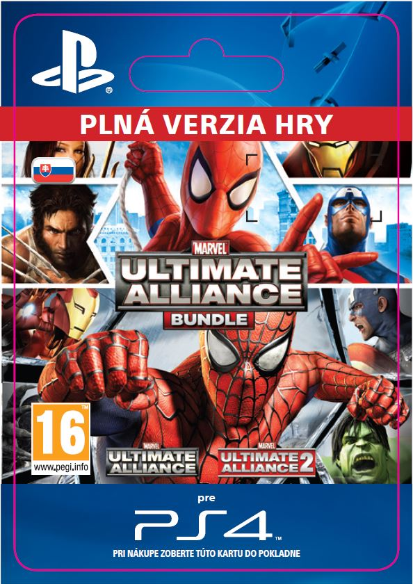 ESD SK PS4 - Marvel: Ultimate Alliance Bundle