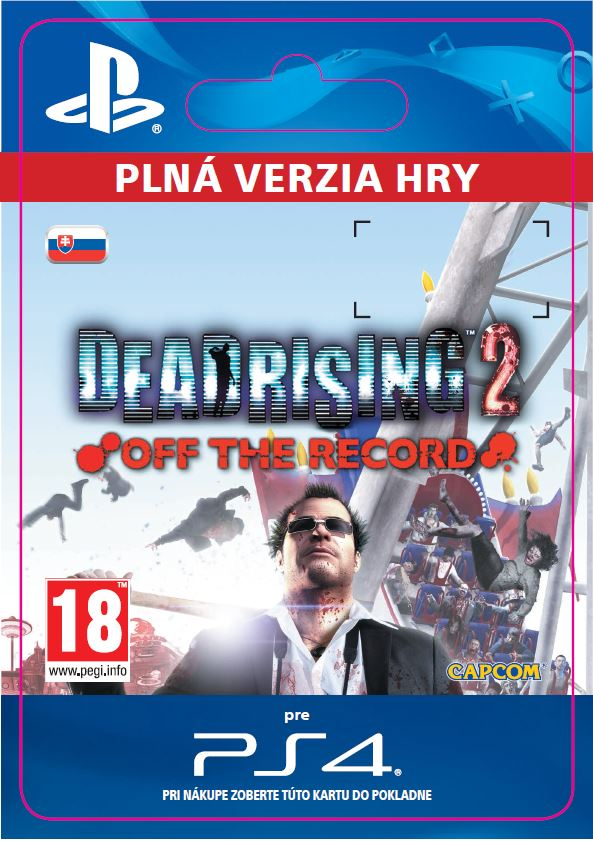 ESD SK PS4 - DEAD RISING 2 Off The Record