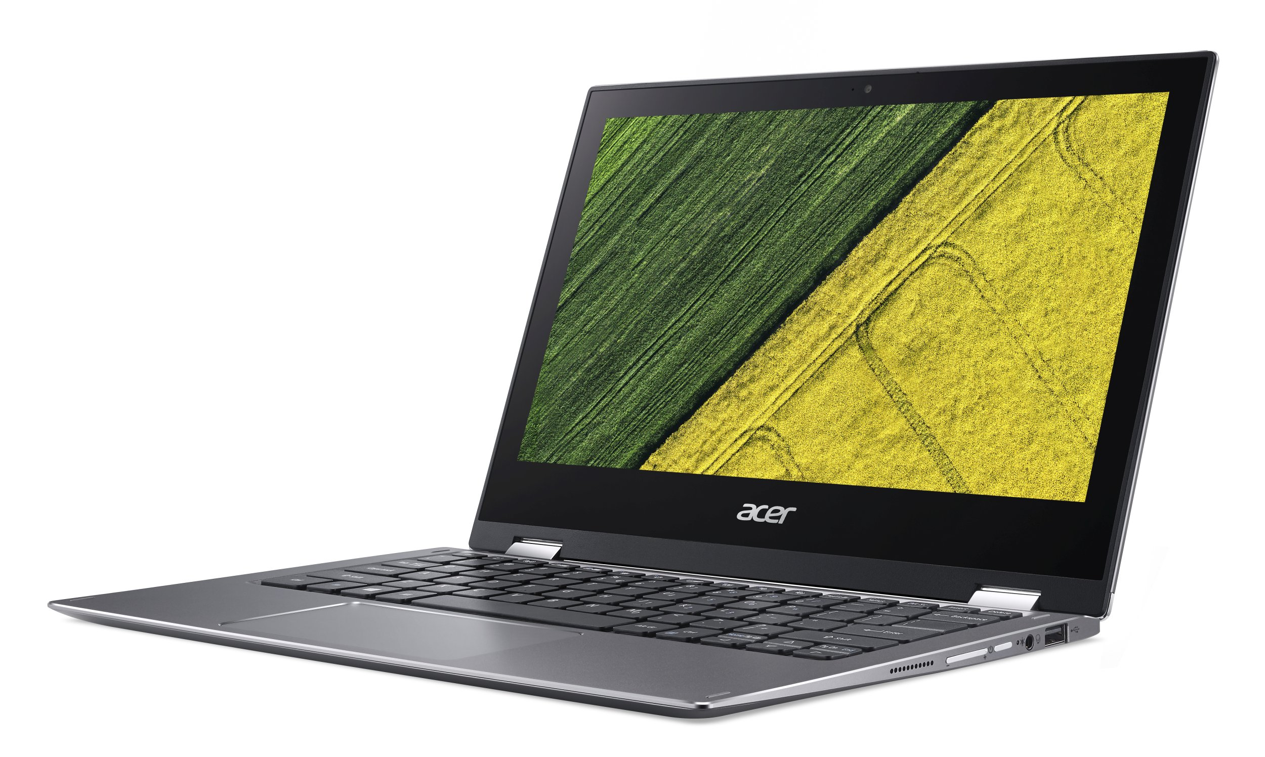 """Acer Spin 1 (SP111-32N-C2RB) Celeron N3350/4GB+N/A/eMMC 32GB+N/A/HD Graphics/11.6"""" Multi-touch FHD IPS/BT/W10 Home/Gray"""