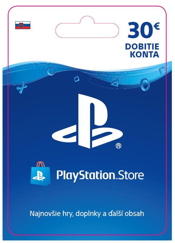 ESD SK - PS Store el. peněženka - 30 EUR
