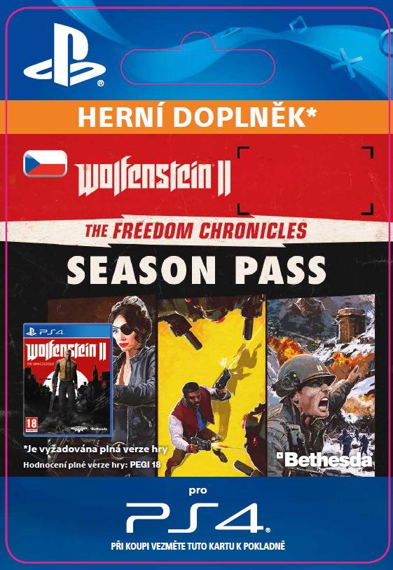 ESD CZ PS4 - Wolfenstein® II: The Freedom Chronicles Season Pass (Av. 27.10.17)