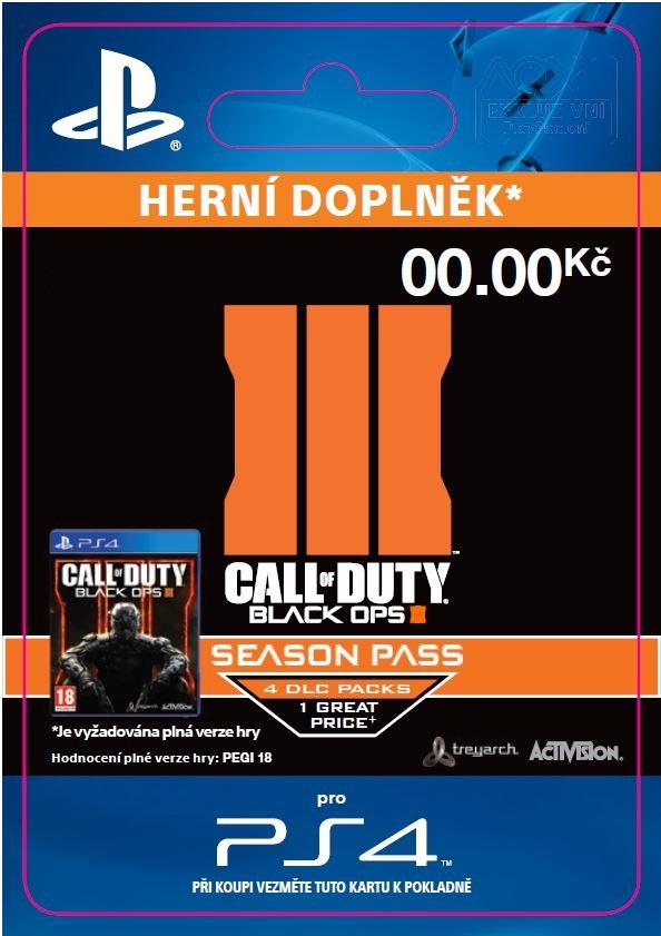 ESD SK PS4 - Call of Duty®: Black Ops III - Season Pass