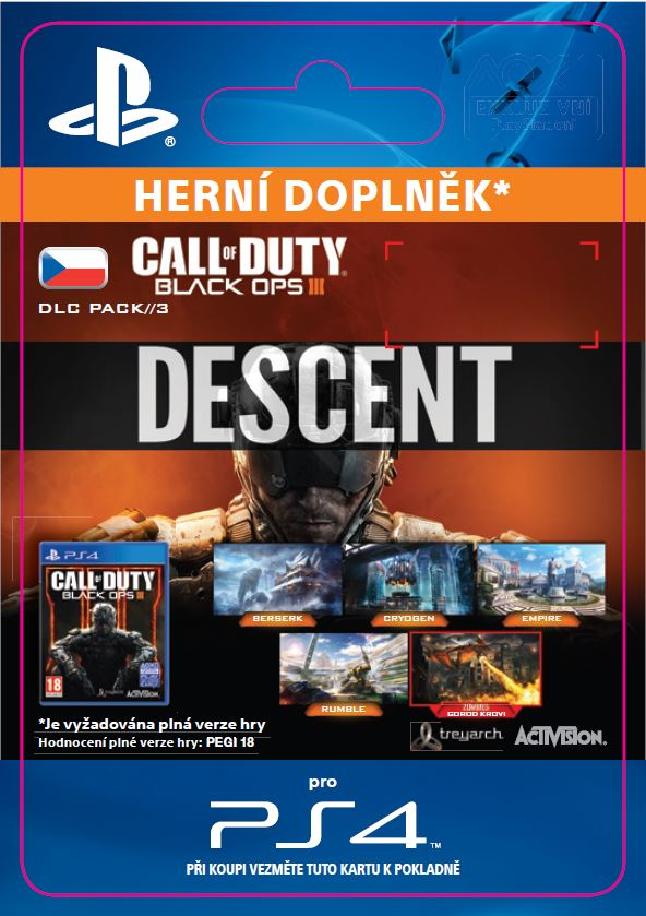 ESD CZ PS4 - Call of Duty®: Black Ops III Descent