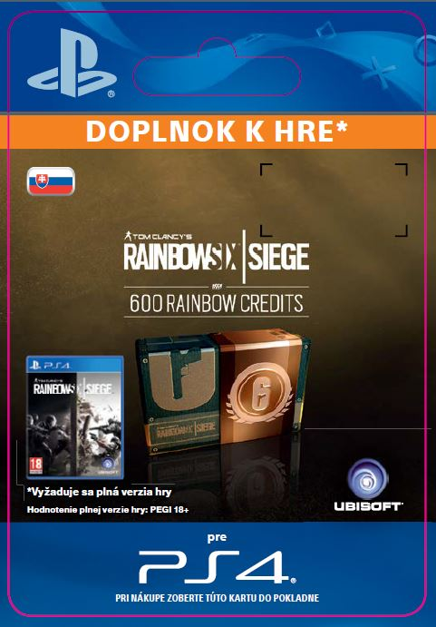 ESD SK PS4 - 600 Credits Pack