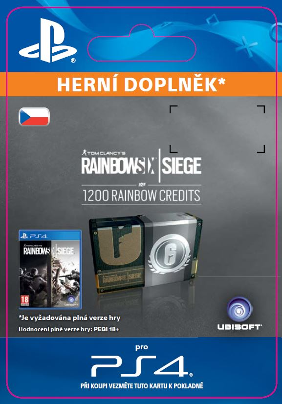 ESD CZ PS4 -1200 Credits Pack
