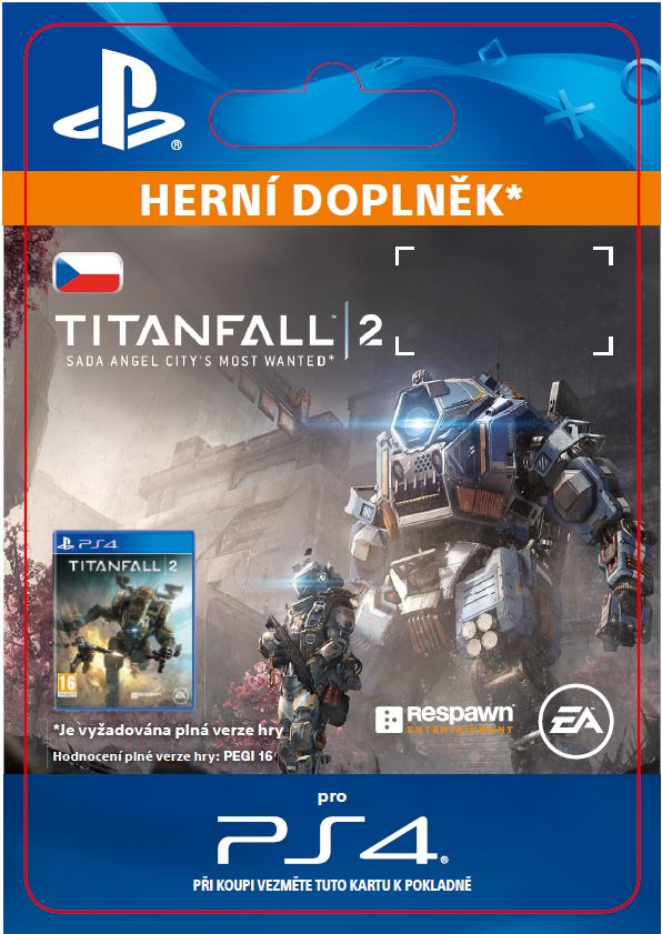 ESD CZ PS4 - Titanfal 2: Angel City's Most Wanted Bundle