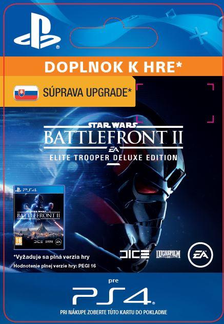 ESD SK PS4 - STAR WARS™ Battlefront™ II: Deluxe - Upgrade (Av. 17.11.2017)