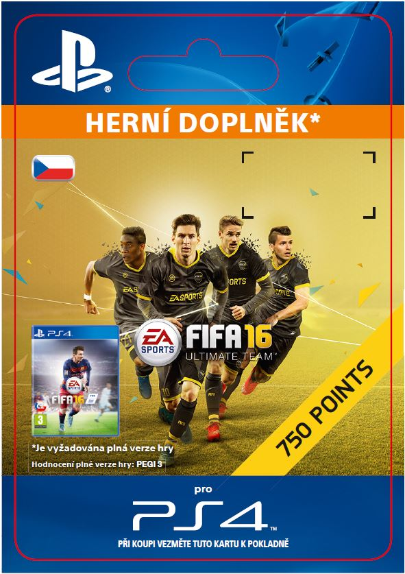 ESD SK PS4 - 750 FIFA Points