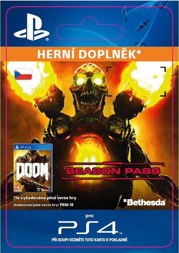 ESD CZ PS4 - DOOM Season Pass Bundle