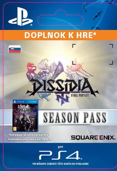 ESD SK PS4 - DISSIDIA® FINAL FANTASY® NT Season Pass
