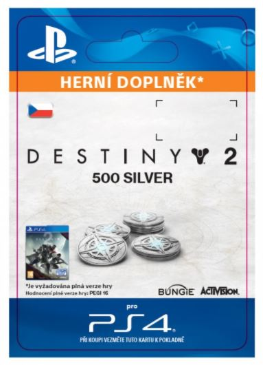 ESD CZ PS4 - 500 Destiny 2 Silver