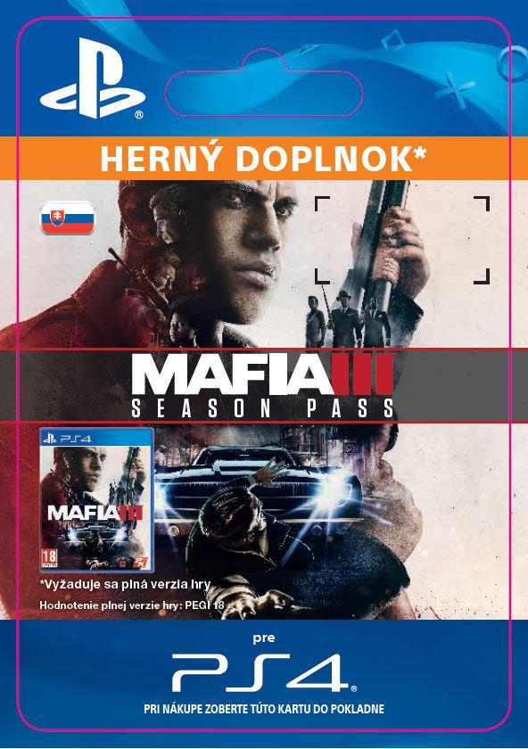 ESD SK PS4 - Mafia III Season Pass