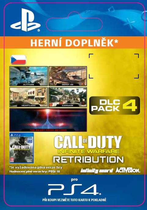 ESD CZ PS4 - Call of Duty®: Infinite Warfare DLC 4: Retribution