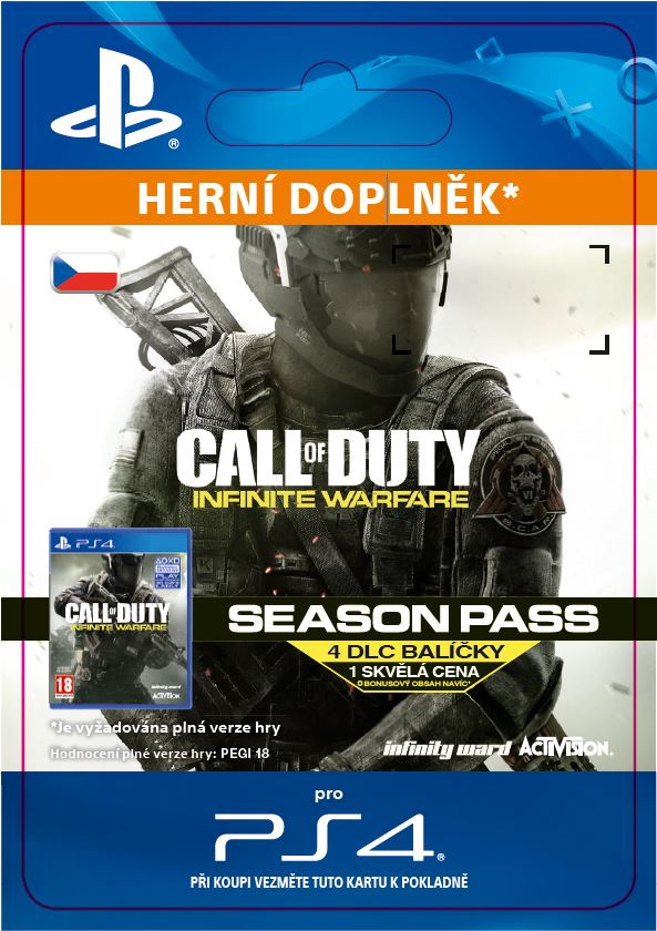 ESD CZ PS4 - Call of Duty: Infinite Warfare - Season Pass