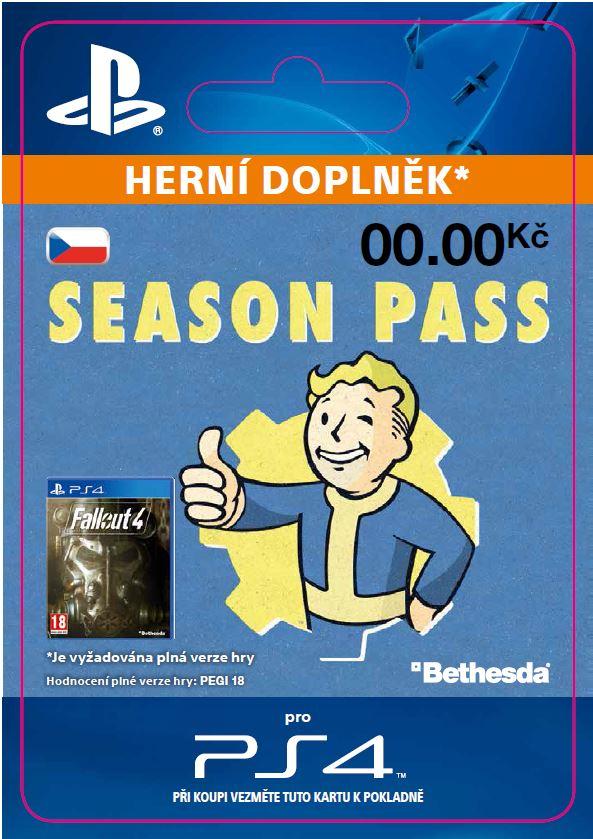 ESD CZ PS4 - Fallout 4 Season Pass Bundle