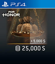 ESD SK PS4 - FOR HONOR™ 25 000 STEEL Credits Pack