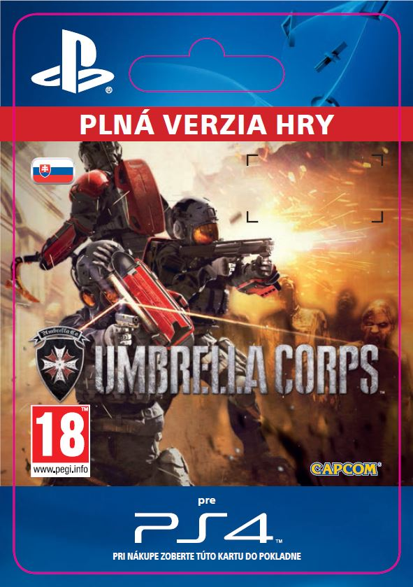 ESD SK PS4 - Umbrella Corps