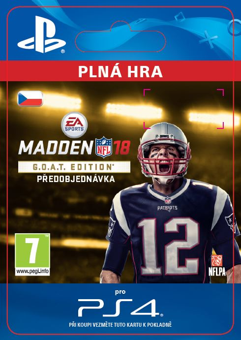 ESD CZ PS4 - Madden NFL 18 G.O.A.T. Edition