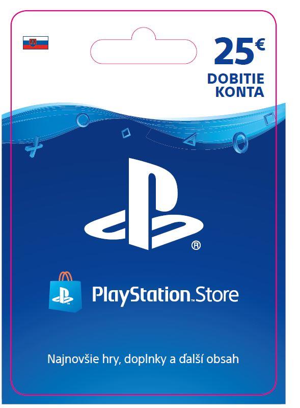 ESD SK - PS Store el. peněženka - 25 EUR