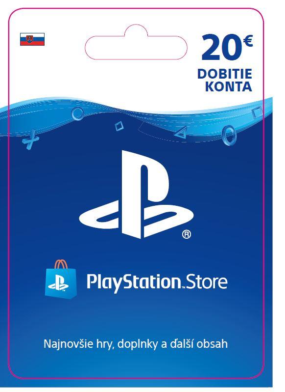 ESD SK - PS Store el. peněženka - 20 EUR