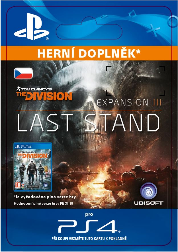ESD CZ PS4 - Tom Clancy's The Division Last Stand