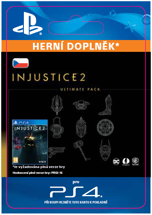 ESD CZ PS4 - Injustice™ 2 Ultimate Pack