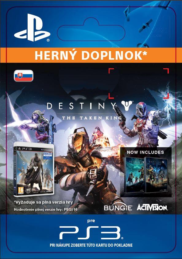 ESD SK PS3 - Destiny: The Taken King