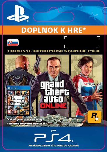 ESD SK PS4 - GTA Online: Criminal Enterprise Starter Pack