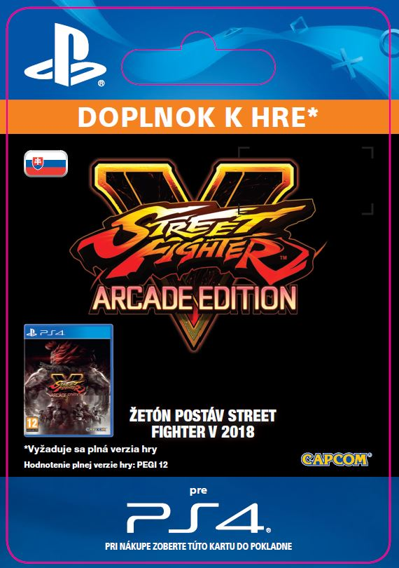 ESD SK PS4 - STREET FIGHTER V Season 3 Character Pass (16.1.2018)