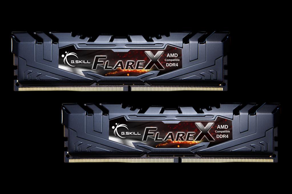 G.Skill Flare X (pro AMD) DDR4 16GB (2x8GB) 2400MHz CL15 1.2V XMP 2.0