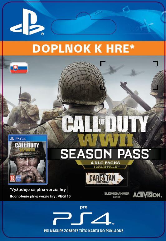 ESD SK PS4 - Call of Duty®: WWII - Season Pass (Av. 03.11.17)