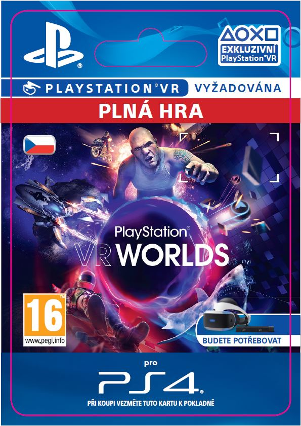 ESD CZ PS4 - PlayStation VR Worlds