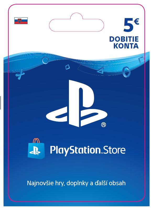 ESD SK - PS Store el. peněženka - 5 EUR