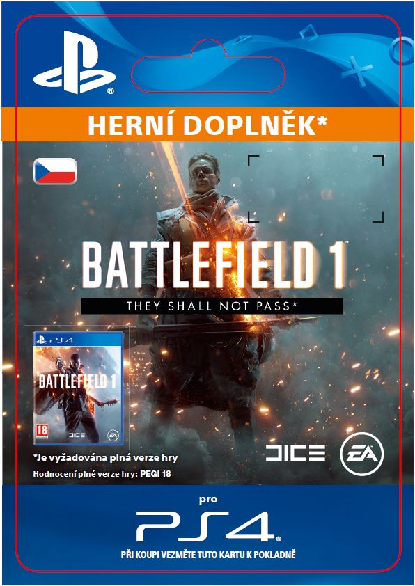 ESD SK PS4 - Battlefield 1 They Shall Not Pass