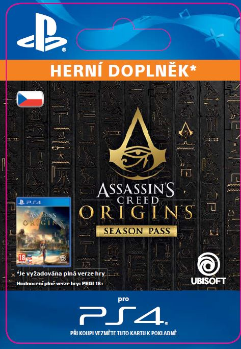 ESD CZ PS4 - Assassin's Creed® Origins - Season Pass