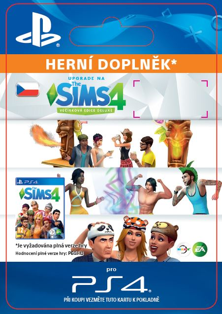 ESD SK PS4 - The Sims™ 4 Deluxe Party Ed. Upgrade
