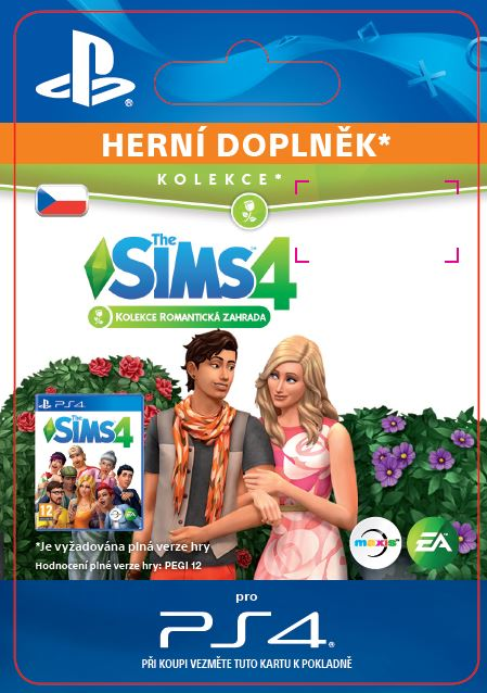 ESD CZ PS4 - The Sims™ 4 Romantic Garden Stuff
