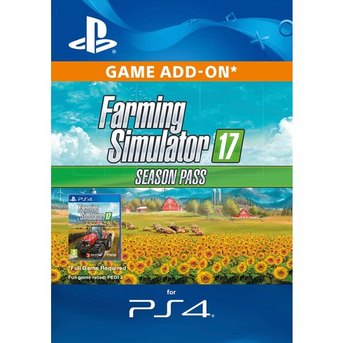 ESD CZ PS4 - Farming Simulator 17 - Season Pass