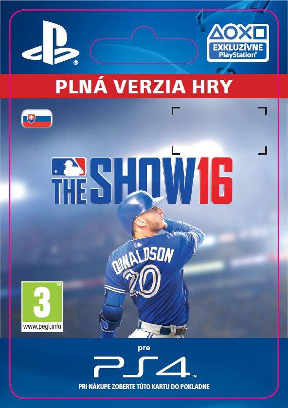 ESD SK PS4 - MLB® The Show 16
