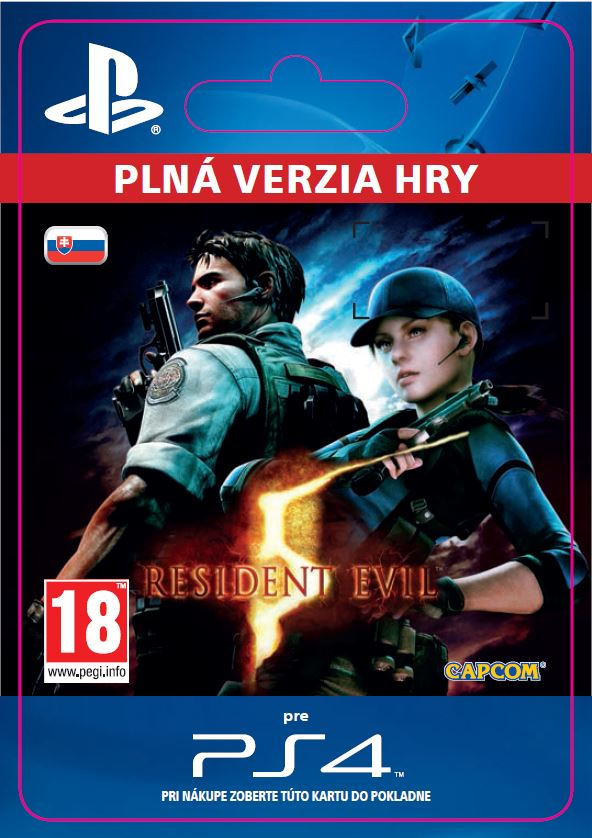 ESD SK PS4 - RESIDENT EVIL 5