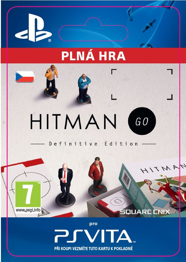 ESD CZ PS Vita - Hitman GO: Definitive Edition