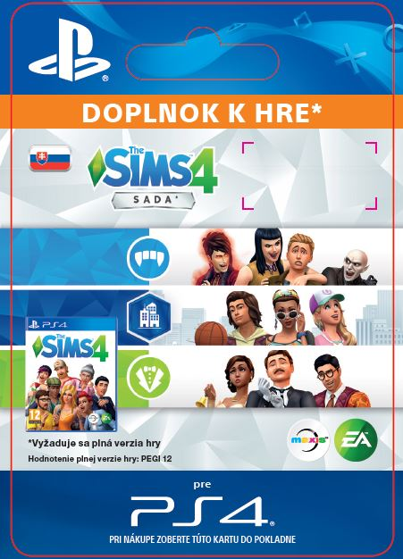 ESD SK PS4 - The Sims™ 4 Bundle