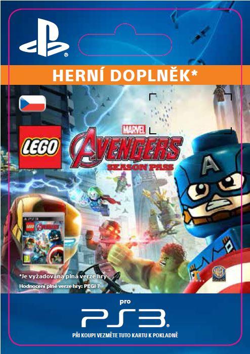 ESD CZ PS3 - LEGO® Marvel's Avengers Season Pass