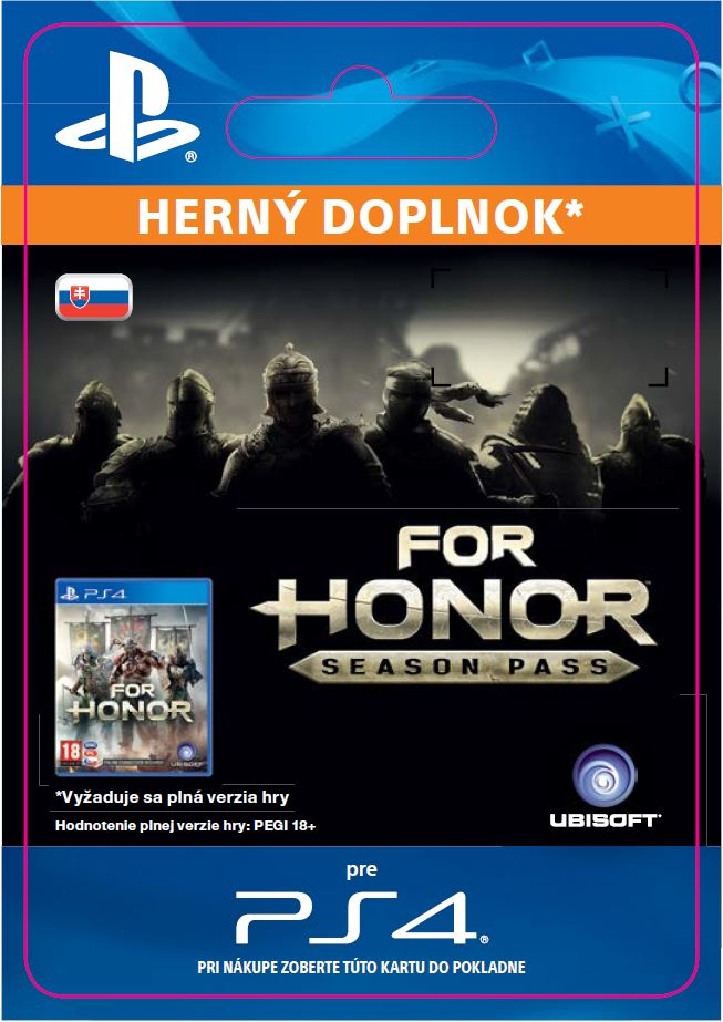 ESD SK PS4 - FOR HONOR SEASON PASS